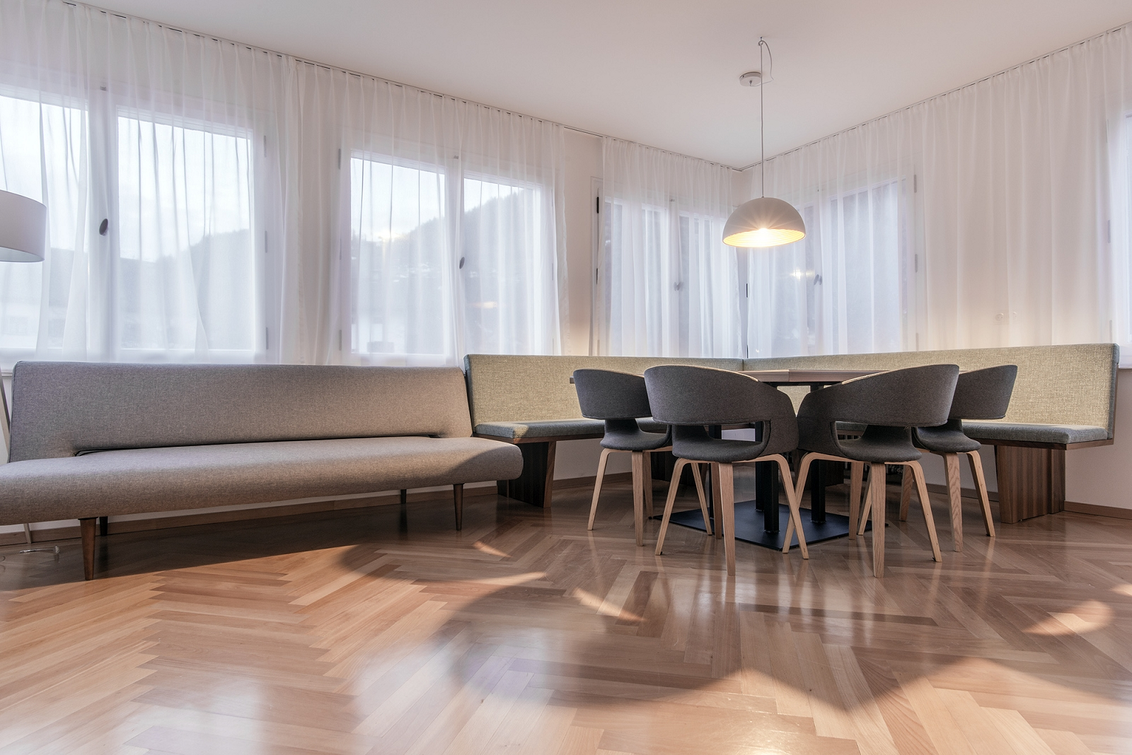 Haus Kapell Apartement 2 Küche