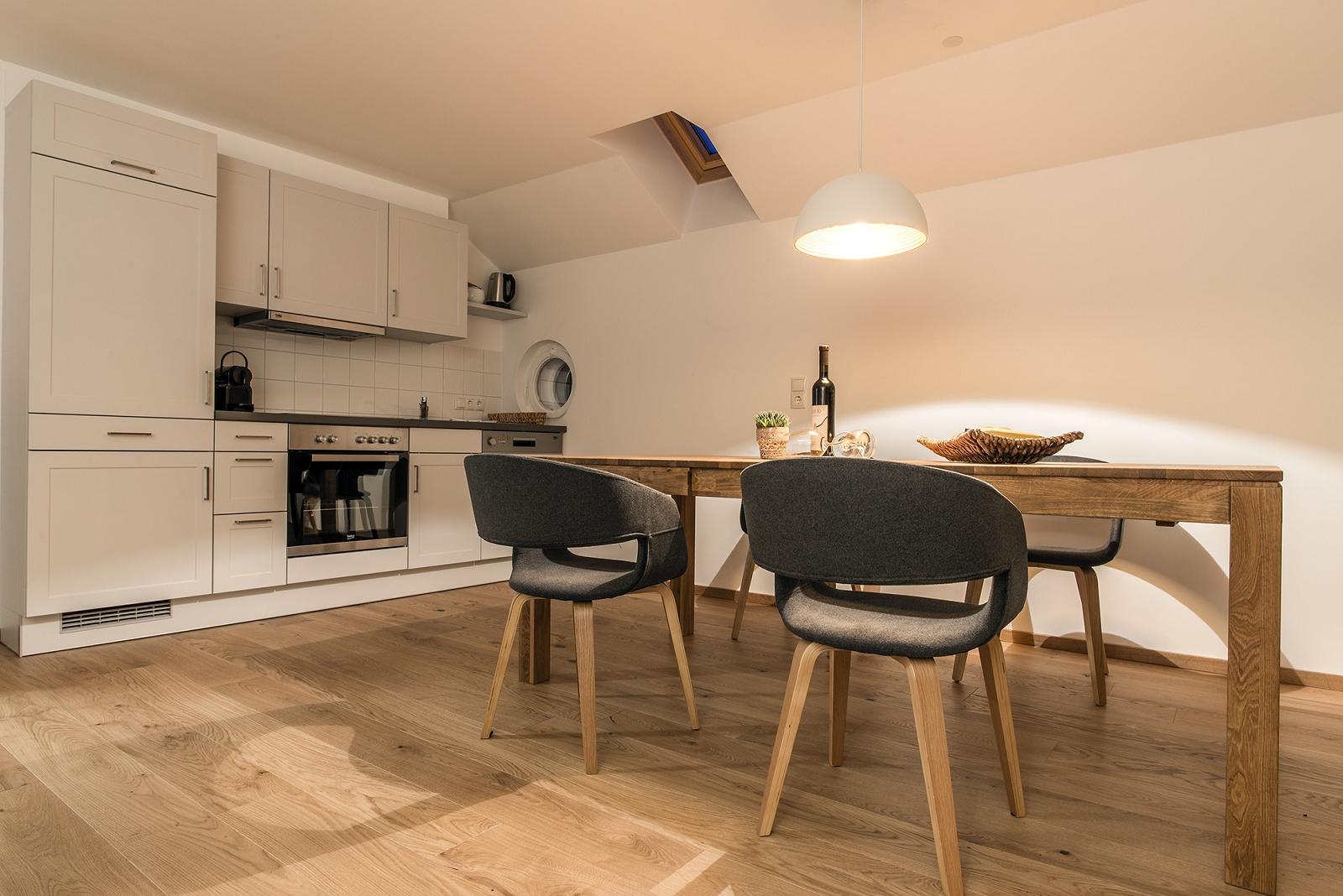 Haus Kapell Apartement 3 Küche
