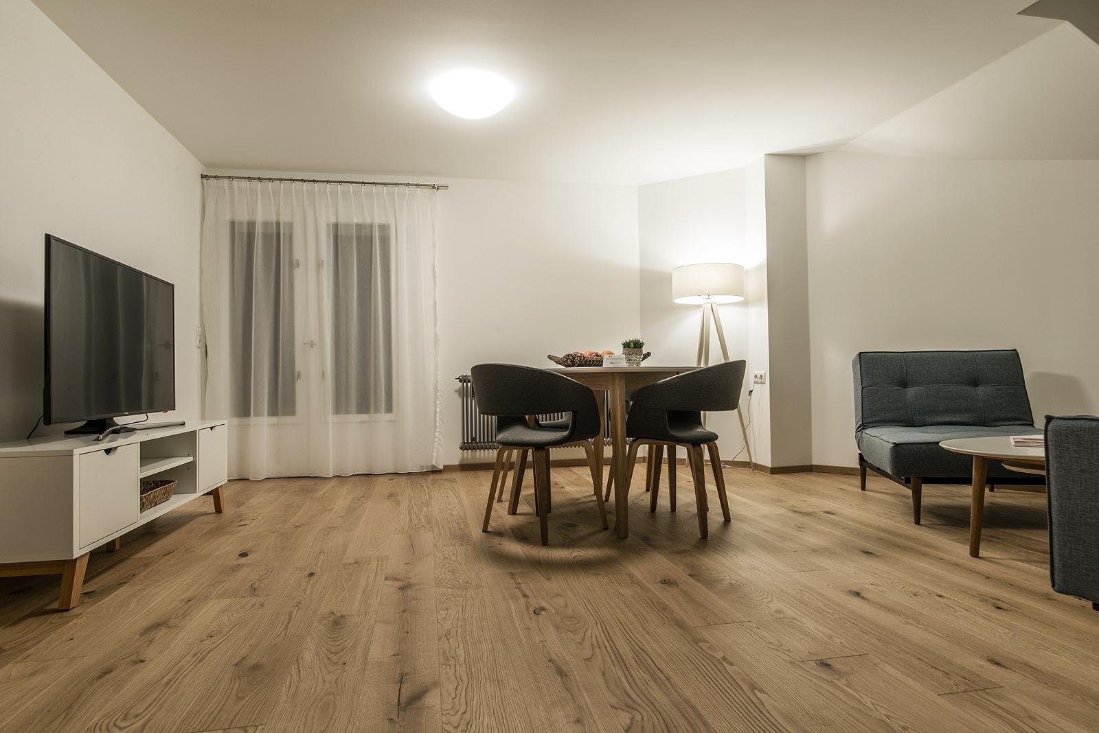 Haus Kapell Apartement 4 Wohnzimmer
